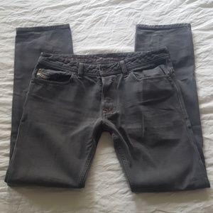 Diesel Jeans Safado Slim Straight Grey Size 34